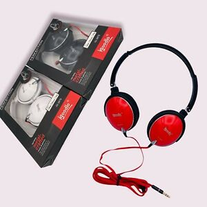 ACTIVE Noise Cancelling Igoodlo Wired Headphones Foldable Over Ear MIX COLOURS