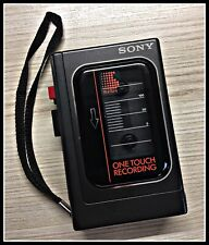 Sony Cassette-Corder TCM-13 ONE TOUCH RECORDING Walkman