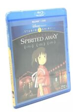 Spirited Away (Blu-ray+Dvd, 2015, 2-Disc Set) New Studio Ghibli/Disney