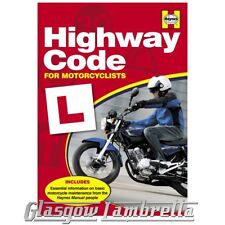 Haynes 5152 HIGHWAY CODE FOR MOTORCYCLISTS, SCOOTERISTS & LEARNERS + Stickers