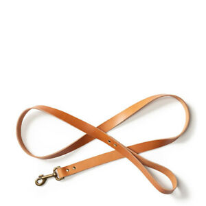 New Filson Leather Dog Leash Natural