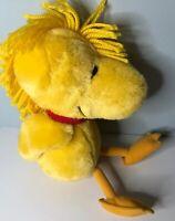 "Kohls Cares Woodstock Plush Charlie Brown 12"" Plush Stuffed Animal Toy Peanuts"