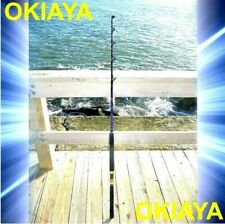 "SALTWATER FISHING RODS 30-50LB FISHING POLE ""BLUELINE"" FOR PENN SHIMANO 6ft"