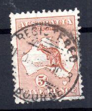 Australia 1913 Roo 5d fine CDS used SG8 WS15589