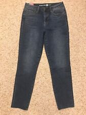 Womens MAX STUDIO High Rise Skinny Denim Ankle Jeans 6