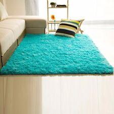 New Fluffy Rugs Anti-Skid Area Rug Dining Room Home Bedroom Carpet Floor Mat