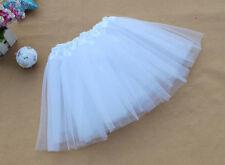Fashion Tulle Ballet Women Cute Flare Gauze Tutu Candy Color Mini Lace Skirt