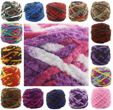 100G soft Chunky knit Crochet Single strand chenille cashmere Milk velvet yarn