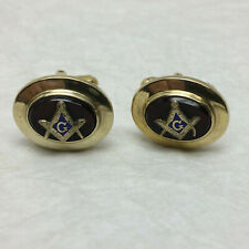 Men's Masonic Cufflinks by Hayward 1/20 12k Gold Filled