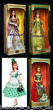 Bard Barbie Doll Spellbound Lover Faerie Legends of Ireland Shamrock Celebration