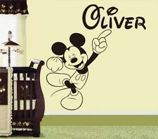 Stickers muraux mickey pour enfant