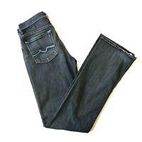 7 For All Mankind Bootcut Womens Jeans Sz 28 High Waist Medium  Wash Boot Leg