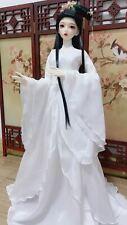 1/3SD 1/4MSD BJD Clothes Archaic Fairy Suit Dress&Tube&Waistband Pure White #3