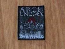 ARCH ENEMY - WAR ETERNAL 2 (NEW) SEW ON W-PATCH OFFICIAL BAND MERCH