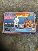 Vintage SEARS WALT DISNEY ELECTRIC RACING Mickey Mouse & Donald Duck GRAND TOUR