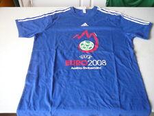 Tee-shirt adidas Euro 2008 Austria -Switzerland  bleu t XL