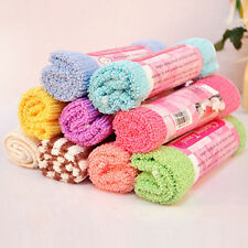 Cotton Bibs Bath Washcloths Absorbent Drying Hand Face Towel Cleansing 30X30cm