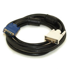 10ft DVI-A Male (Analog) to VGA Male Triple Shielded Gold Plated Cable