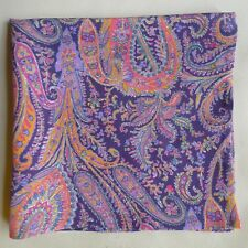 Felix and Isabelle Liberty of London silk pocket square