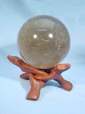 """BUTW 2.9"""" smokey quartz sphere lapidary wicca 9051A"""