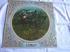 Sealed Rare Endle St. Cloud Thank You Very Much original International Artists