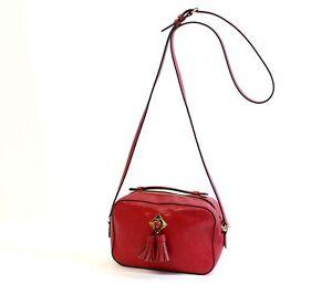 LOUIS VUITTON Saintonge Empreinte Leather Bag Scarlet rot 2019 LV3480
