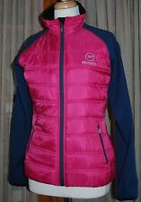 Rossignol Clim Light Loft Ski Jacket - Insulated/Puff/Quilted Womens Medium PINK