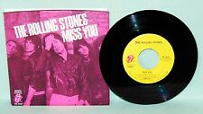 THE ROLLING STONES  Miss You 45 RPM w/PS  RS 19307  NM/UNPLAYED  1978 ORIGINAL