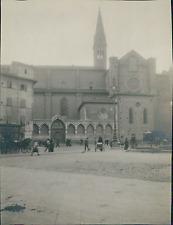 Italie, Florence, Basilique Santa Maria Novella Vintage silver print, provenant