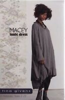 PATTERN - Macey Tunic Dress - women's sewing PATTERN from Tina Givens