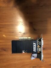 MSI NVIDIA GeForce GT 710 2GB GDDR3 Graphics Card (GT 710 2GD3H LP)