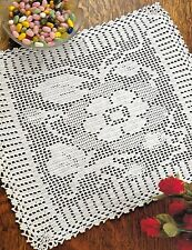 Beautiful Shadow Rose Doily/Crochet Pattern Instructions Only