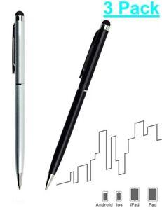 3x Eingabestift Pen für iPhone iPad Smartphone Kugelschreiber Tablet Stift TOP