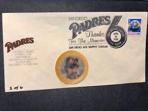 Baseball 1988  San Diego Padres M239 Steve Garvey Thanks for the Memories