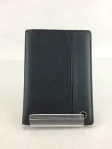 Tumi Passport Cover Leather Leather Leather 046829D Leather Black Card case