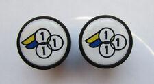 3Rensho handlebar bike caps, 3rensho Bike frame logo end plugs, 3Rensho bike cap