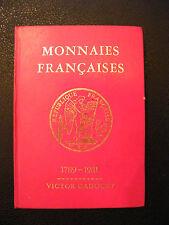 Monnaies Françaises Gadoury 1789 1981