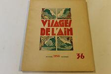 revue VISAGE DE L AIN 36 1956