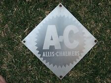 **SALE  ALLIS CHALMERS TRANSFORMER STAINLESS STEEL SIGN