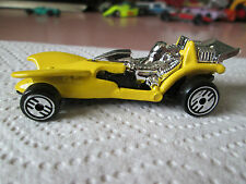 1992 Hot Wheels Yellow Pipe Jammer Wild Racing Car #206 Malaysia MINT