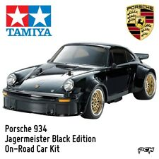 Tamiya 1:10 Porsche Turbo RSR Type 934 TA02SW Black Edition Car Kit TAM47362
