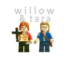 Willow & Tara custom made Minifigures. BTVS, Buffy. Nouvelle, faite avec version parts