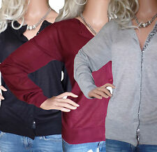 Viscose Patternless Jumpers & Cardigans for Women