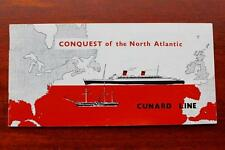 CUNARD WHITE STAR LINE RMS QUEEN MARY ELIZABETH COMPANY HISTORY OF ATLANTIC 60'S