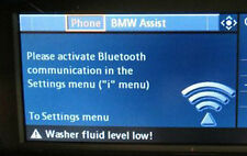 BMW OEM E90 E91 E92 E93 E60 E61 3 & 5 Ser X1 Basic Hands-Free Bluetooth Retrofit