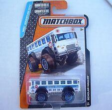 Scholar Hauler School Bus. MBX Adventure City 19/120 CFV93. New in Blister Pack.