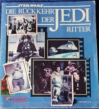 STAR WARS RÜCKKEHR der JEDI RITTER PANINI SAMMELBILDER-ALBUM 1983 KOMPLETT