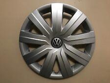 """2015-16 VW VOLKSWAGEN JETTA S 15"""" GENUINE OEM HUBCAP WHEEL COVER 5C0.601.147.D"""