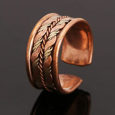 Adjustable Tibetan Medicine Ring Copper Magnetic Ring With Pure Copper