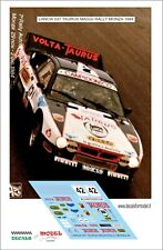 DECALS 1/43 LANCIA 037 MAGGI RALLY MONZA 1984